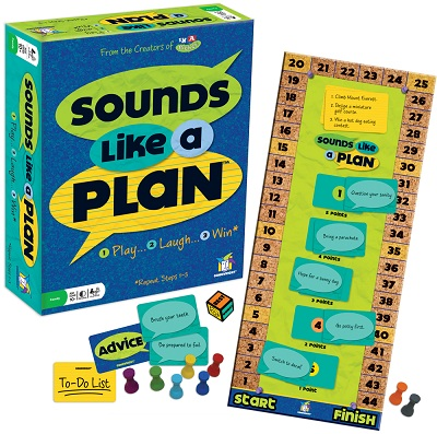 Sounds Like A Plan party game