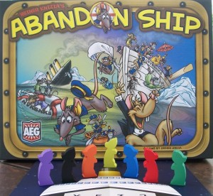 Abandon Ship board game