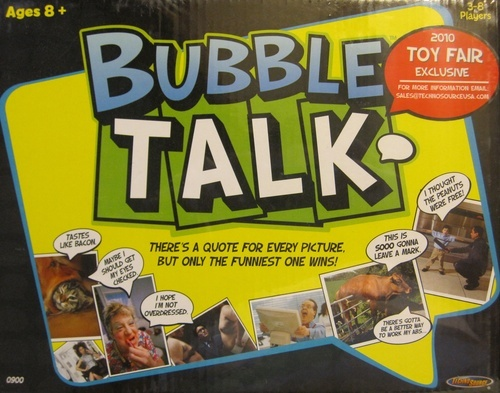 Bubble Talk party game