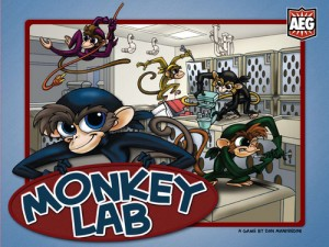 Monkey Lab board game