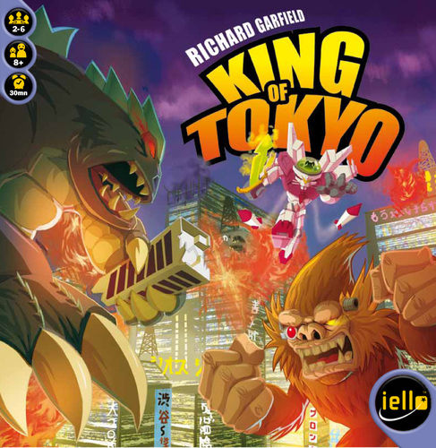 King of Tokyo party game