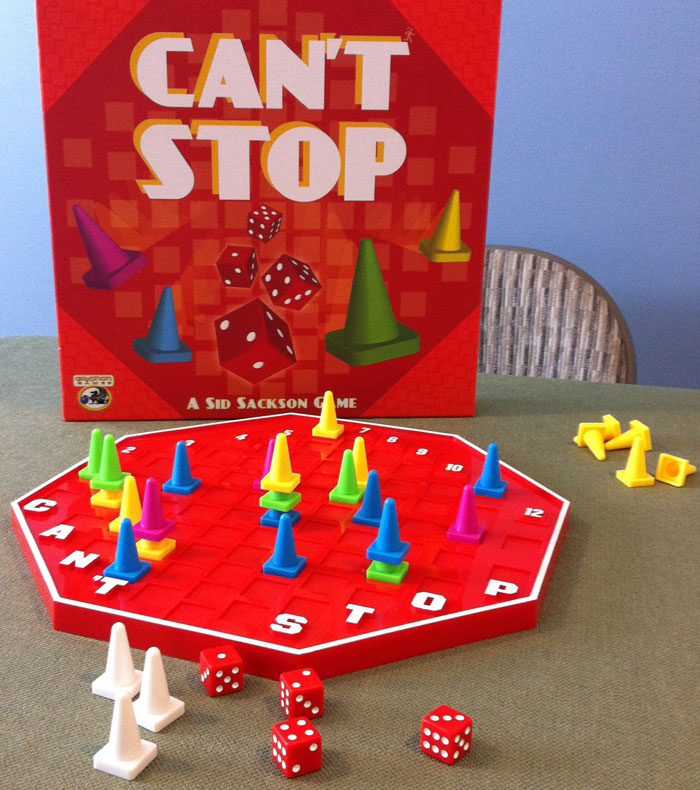 """Stop Board Game Can't Stop Dice Game """""""