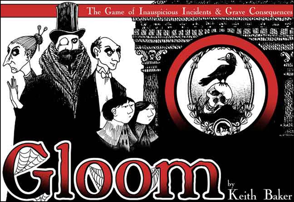 Gloom Card Game Review The Board Game Family