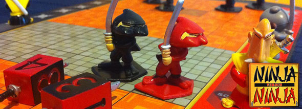 Ninja vs Ninja board game