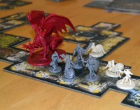 Descent: Journeys in the Dark 2nd edition board game battle
