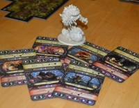 Descent: Journeys in the Dark 2nd edition board game elemental