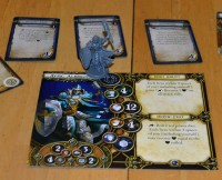 Descent: Journeys in the Dark 2nd edition board game hero card