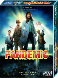 Pandemic 5th Anniversary board game