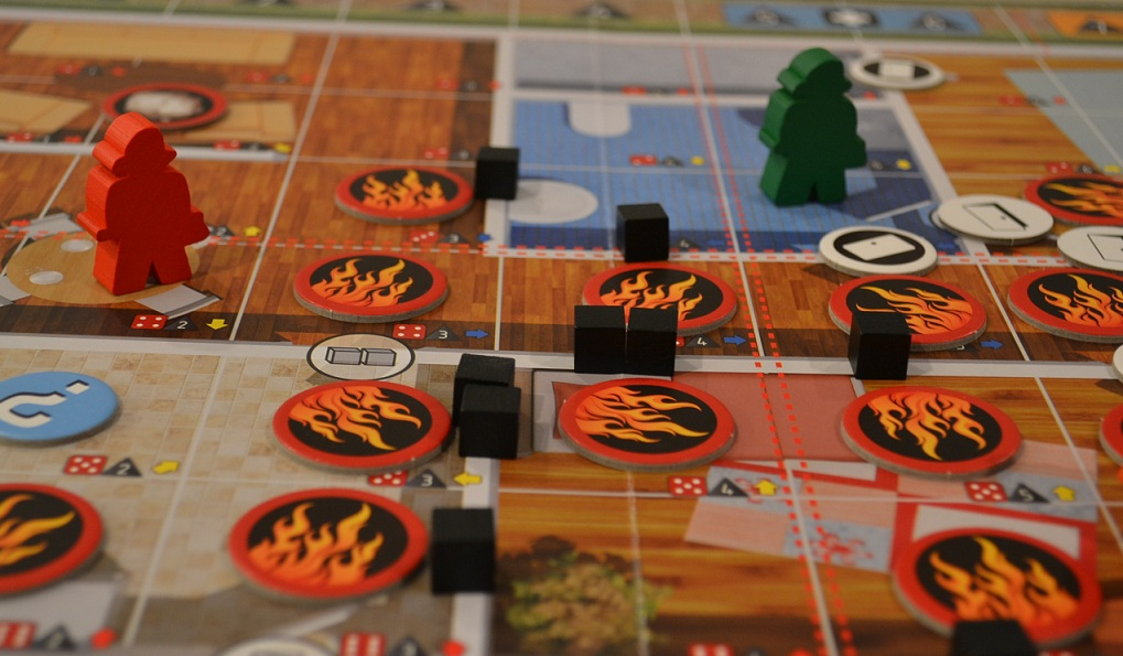 Pile of Board Games Fire Resuce Board Game