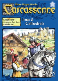 Carcassonne Inns and Cathedrals board game expansion
