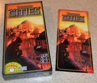 7 Wonders Cities card game expansion
