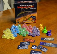 Alien Frontiers: Factions board game