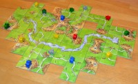 Carcassonne The River board game expansion