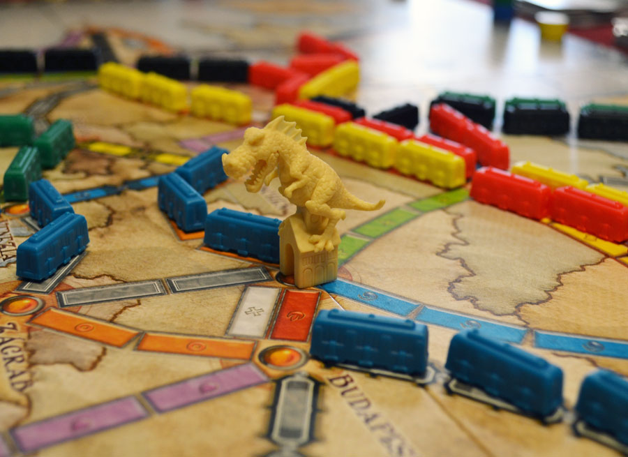 ticket to ride boardgame how to play