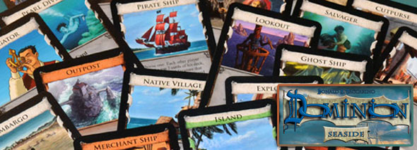 Dominion Seaside board game