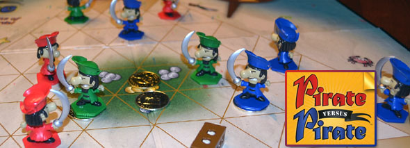Pirate versus Pirate board game