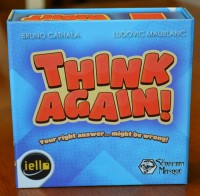Think Again party game