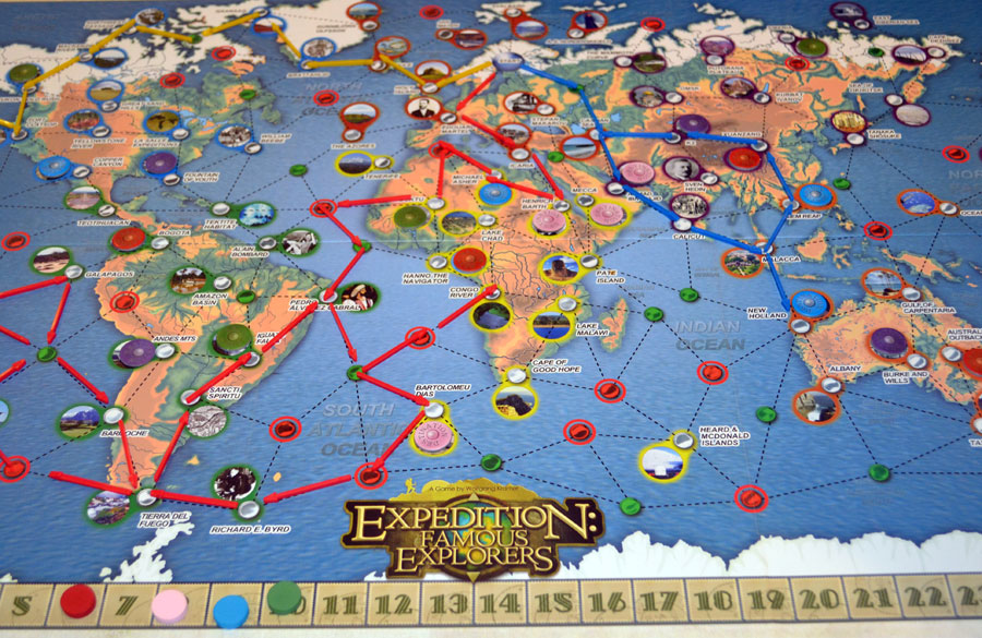 the board game family expedition famous explorers board