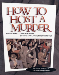 How to Host a Murder party game