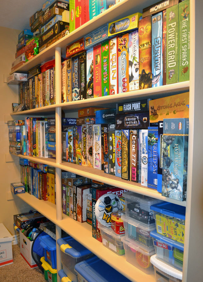 The board game family how to organize your board game for Game storage ideas
