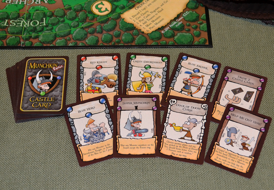 Munchkin Panic Board Game Review The Board Game Family