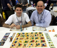 SaltCon Five Tribes board game