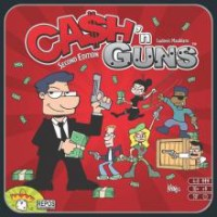 Cash n Guns board game