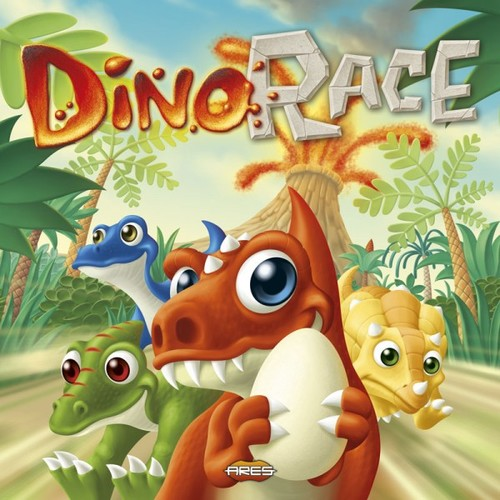 Dino Race children's board game