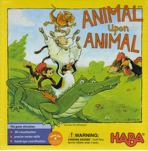 Animal Upon Animal children's board game