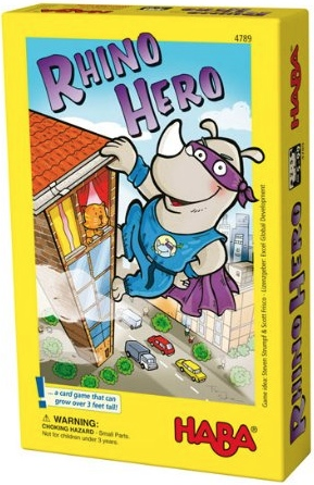 Rhino Hero board game