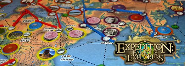 Expedition: Famous Explorers board game