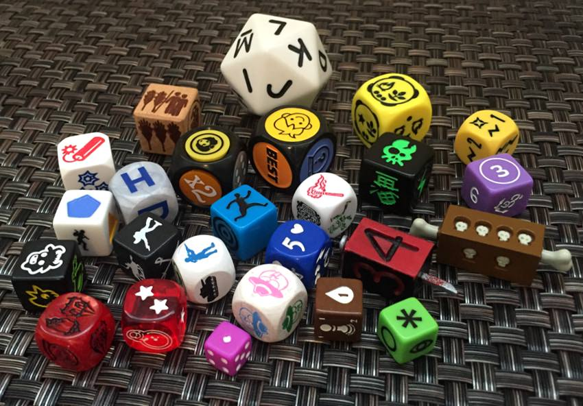 Dice, Dice, and More Dice – Photo Quiz!
