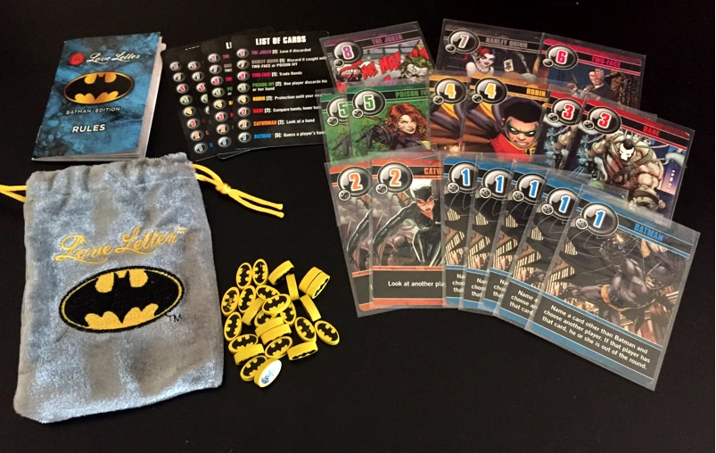 The Board Game Family Love Letter Batman Card Game Review