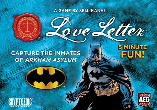 Love Letter: Batman card game