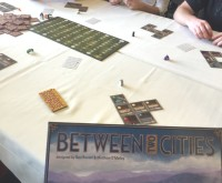 SaltCon 2016 Between Two Cities board game