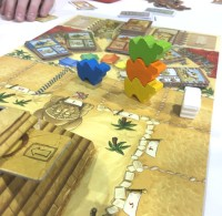 SaltCon 2016 Camel Up board game