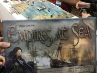 SaltCon 2016 Empires at Sea board game