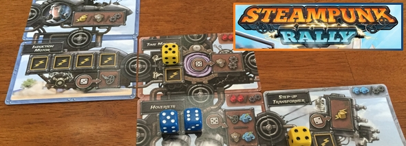 Steampunk Rally dice game