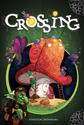 Crossing board game