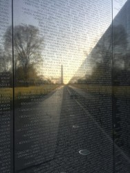 Washington D.C. Vietnam War Memorial