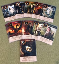 Love Letter: The Hobbit card game