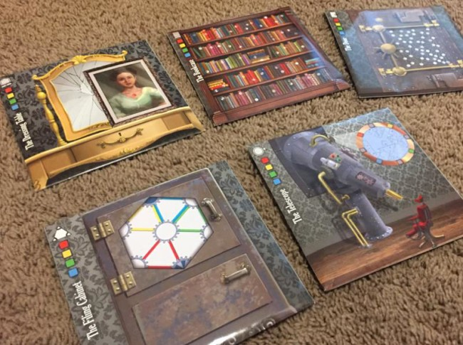 Escape the Room Mystery at the Stargazer's Manor board game