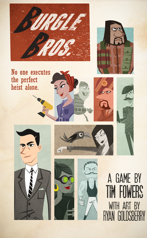 Burgle Bros. cooperative board game