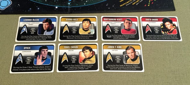 Star Trek Panic board game