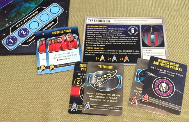 Star Trek Panic board game box