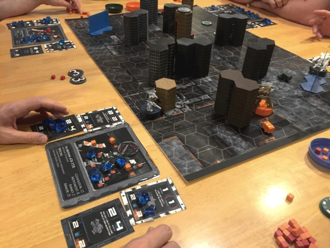 Mech Command RTS board game