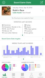 Board Game Stats app