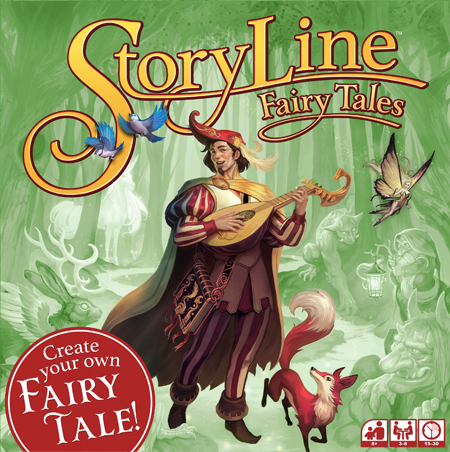 StoryLine: Fairy Tales children's board game
