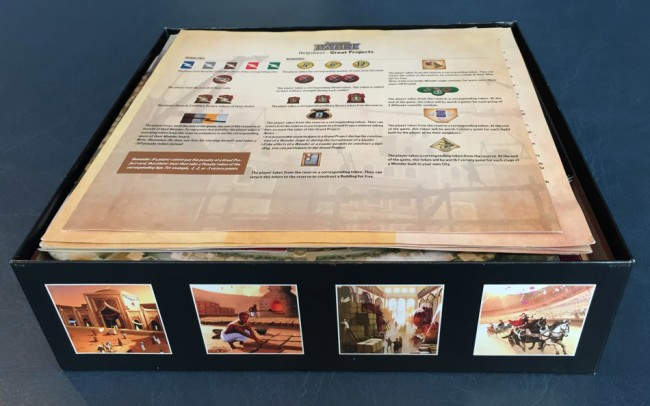 The Broken Token game insert