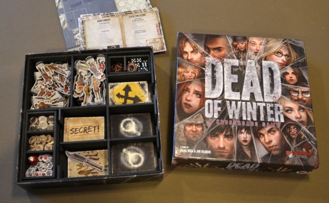 Dead of Winter board game Insert Here